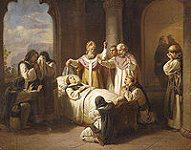 Illustration: toile de Molnár József ->